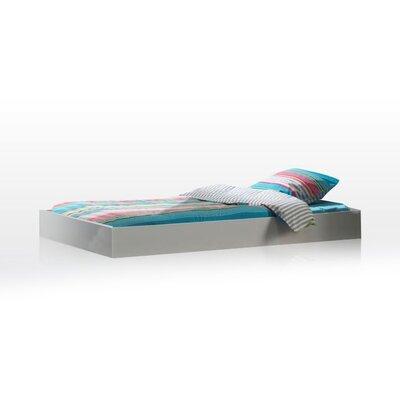 Tiroir de lit 90x190 cm laqué blanc - CROFT