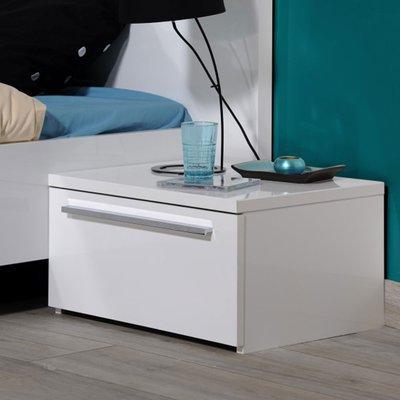 Chevet 1 tiroir blanc - DULTON