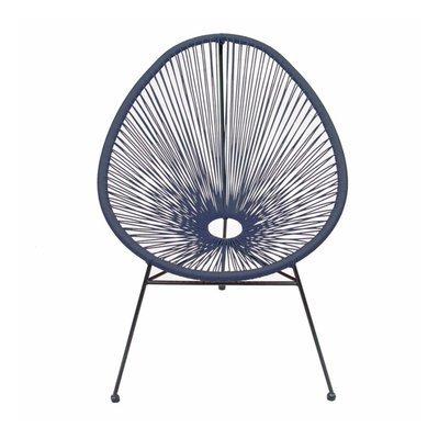 Fauteuil de jardin 81x72x86,5 cm bleu - SCOUBY