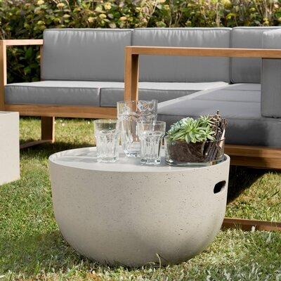 Table basse ronde 58 cm en béton - BETTY