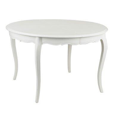 Table à manger extensible en bois blanc - CHARMY