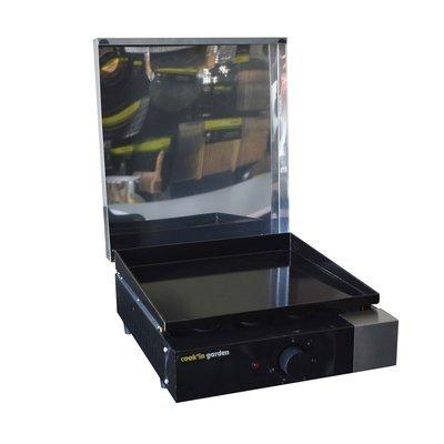Plancha électrique 44x56x19,5 cm avec capot  - FINESTA