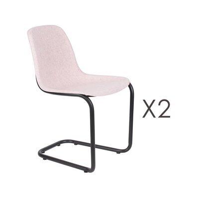 Lot de 2 chaises 52x55x78,5 cm rose - THIRSTY