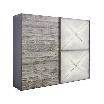 Armoire 2 portes coulissantes 250x69x223 cm - CHICAGO