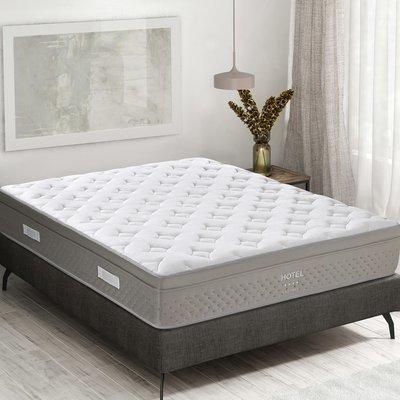 Matelas à ressorts ensachés 140x200 cm confort ferme - HOTEL RESSORT