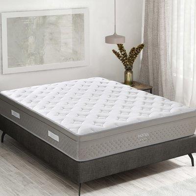 Matelas à ressorts ensachés 160x200 cm confort ferme - HOTEL RESSORT
