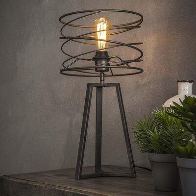 Lampe de table avec abat-jour spirale 27x50 cm en métal - SPIRA